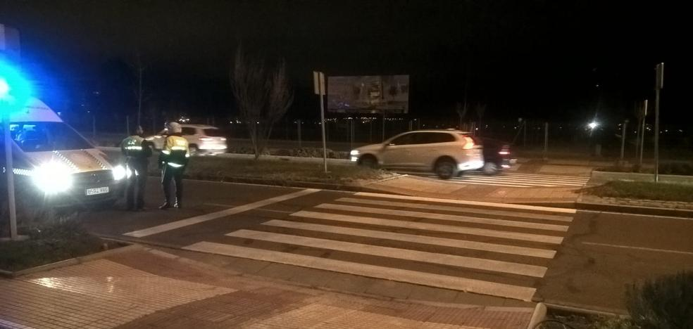 Atropello en un paso de peatones de la avenida de Elvas