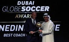 El Real Madrid arrasa en los 'Globe Soccer Awards'