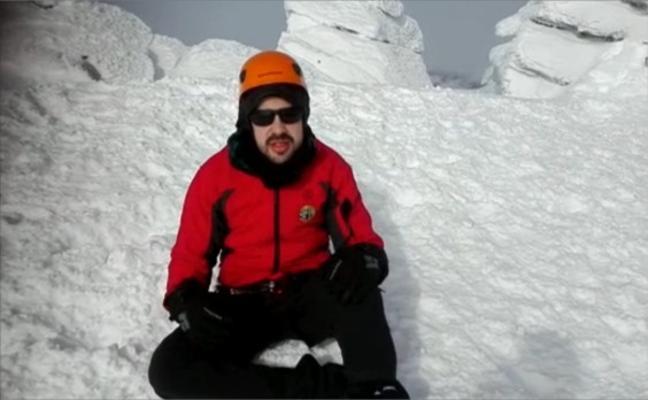 El extremeño sordociego Javier García Pajares hace cumbre en el Mulhacén