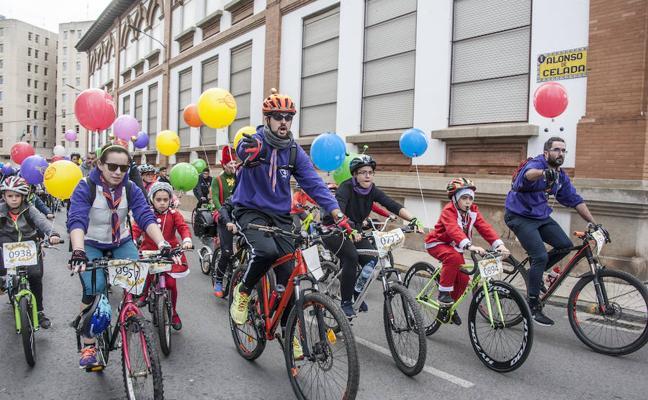 Mil kilos de donaciones sobre ruedas