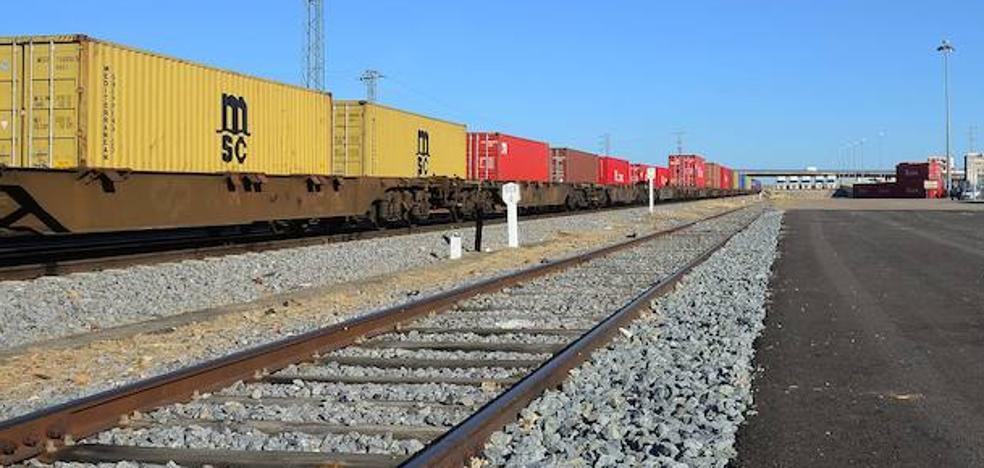Las obras del tren de mercancías entre Évora y Caya comenzarán en 2018