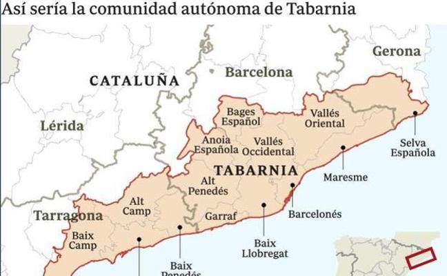 Los promotores de Tabarnia preparan ya varias movilizaciones para 2018