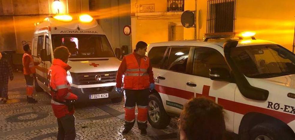 Un joven de 18 años agredido y seis intoxicaciones etílicas en la Nochevieja de Badajoz