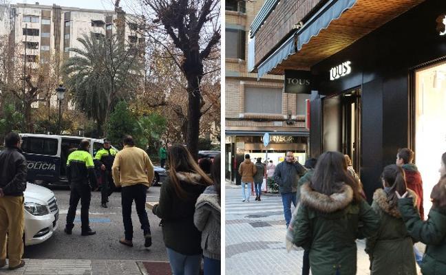 Cinco detenidos en una espectacular persecución policial en Cáceres