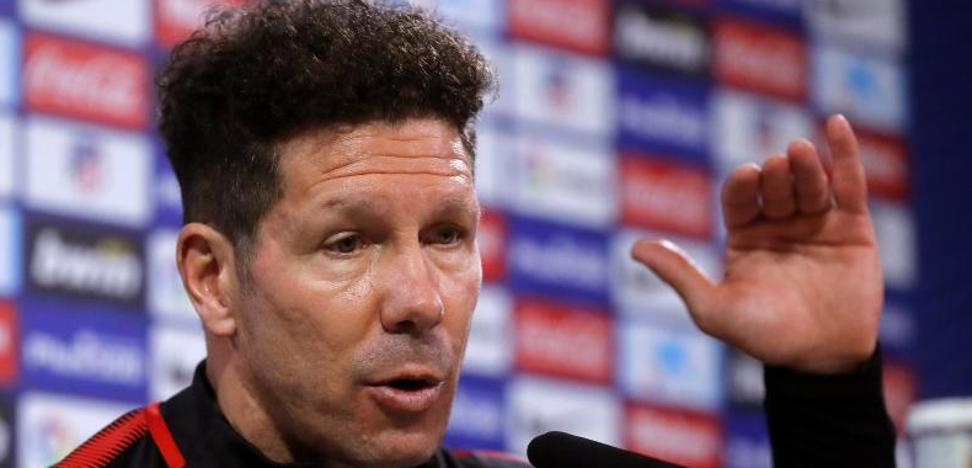 Simeone: «Diego Costa, que ya está para jugar, transmite onda positiva»