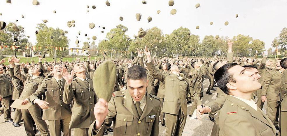980 nuevos alumnos llegan el día 8 al Cefot de Cáceres para su formación militar general