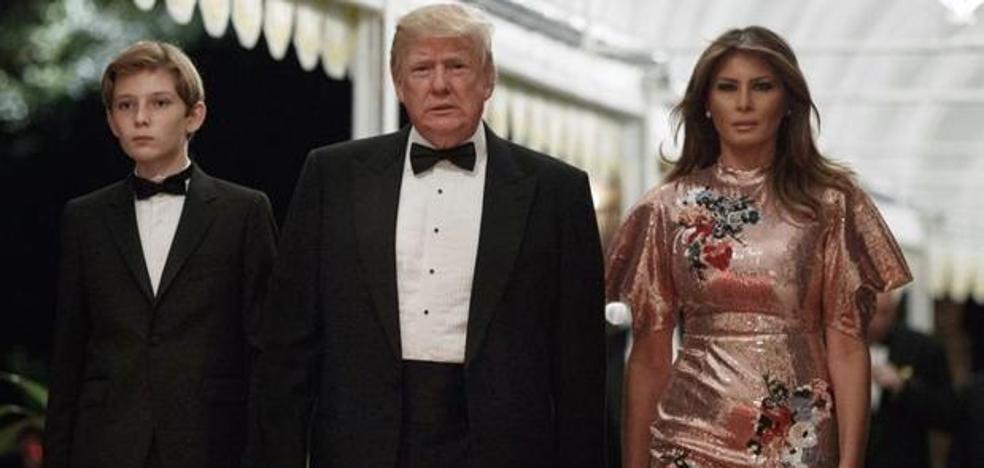 El vestido que lució Melania Trump en Nochebuena, agotado