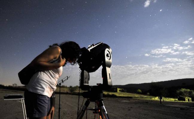 Curso en Badajoz para formar a parados como guías del cielo estrellado