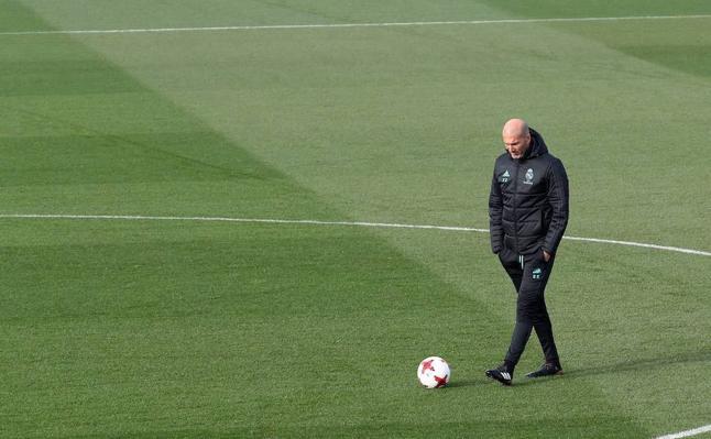 El primer pulso de Zidane en dos años
