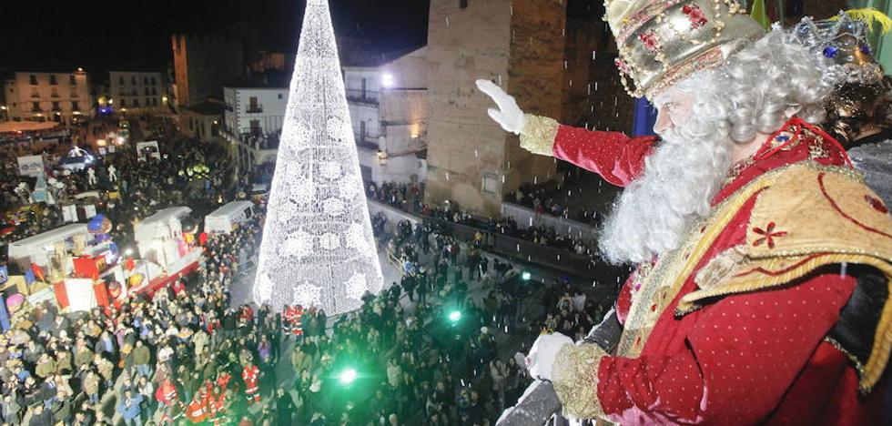 «La cabalgata está garantizada», dice la alcaldesa de Cáceres