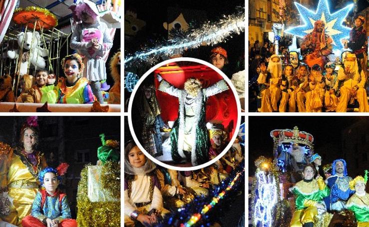 Los Reyes Magos llenan de color las calles de Mérida