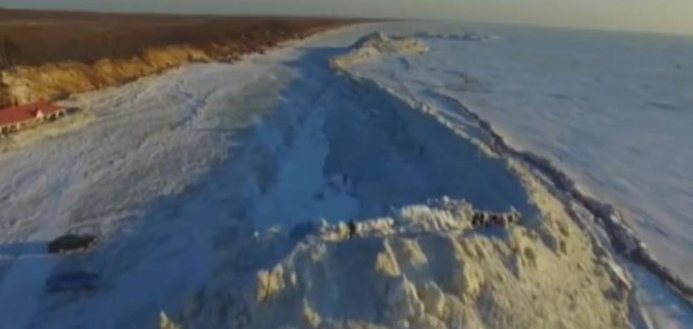Muro entre Rusia y China