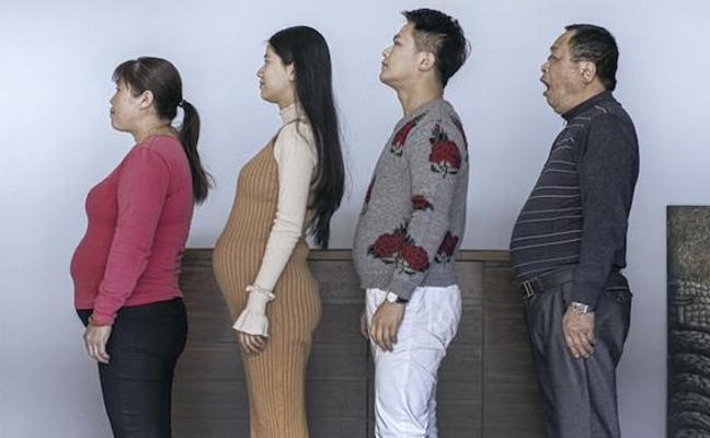 La asombrosa transformación de una familia china tras seis meses de entrenamiento