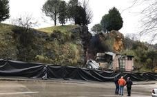 Fallecen tres jirafas del Parque de Cabárceno al incendiarse su caseta