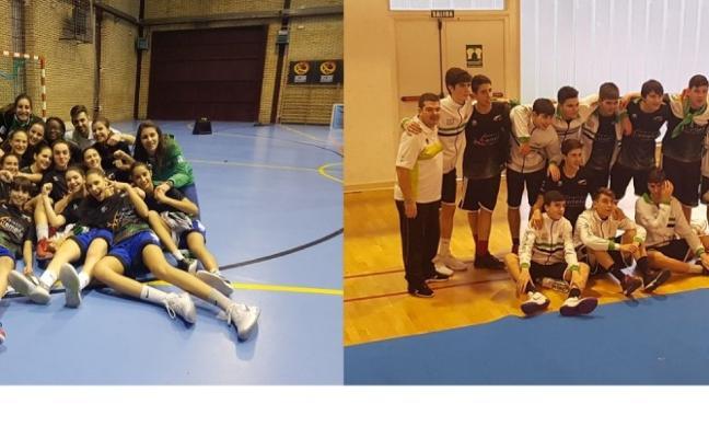 Extremadura consigue un ascenso y una permanencia en Pucela