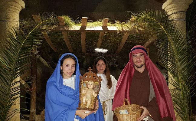 La recaudación del Belén Viviente de Villar del Pedroso, para pagar el techo de la iglesia