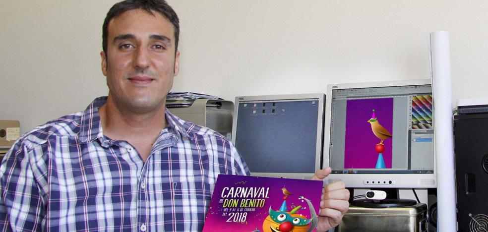 El murciano Rubén Lucas diseña el cartel anunciador del Carnaval de Don Benito