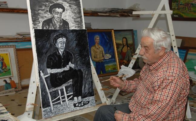 Fallece Larry, el cartero y pintor más emblemático de Miajadas