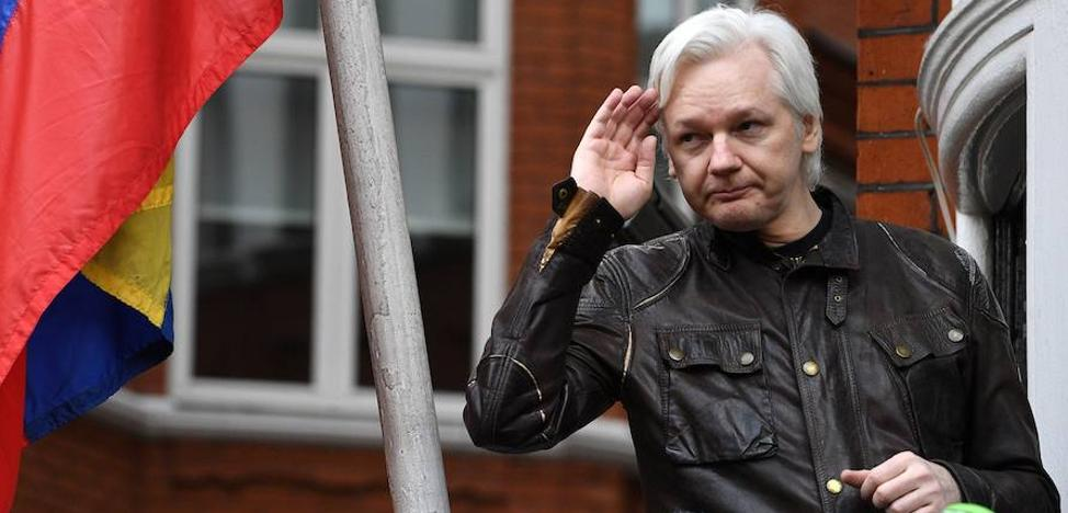 Londres rechaza dar estatuto diplomático a Assange