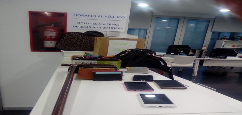 La oficina de objetos perdidos de Badajoz cambia de sede