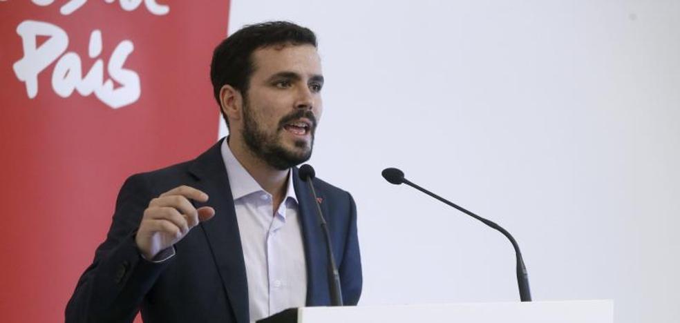 Garzón exige a Podemos un acuerdo global para las municipales