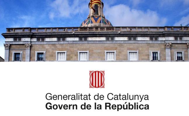 Puigdemont publica la web 'Govern de la República' en paralelo a la oficial