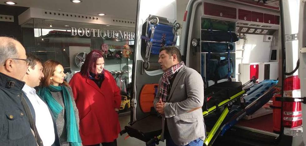 Dos nuevas ambulancias 4x4 para intervenir en lugares de difícil acceso