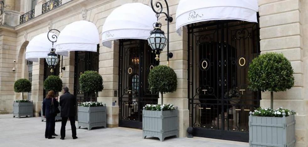 La Policía recupera las joyas robadas el miércoles en el Hotel Ritz de París