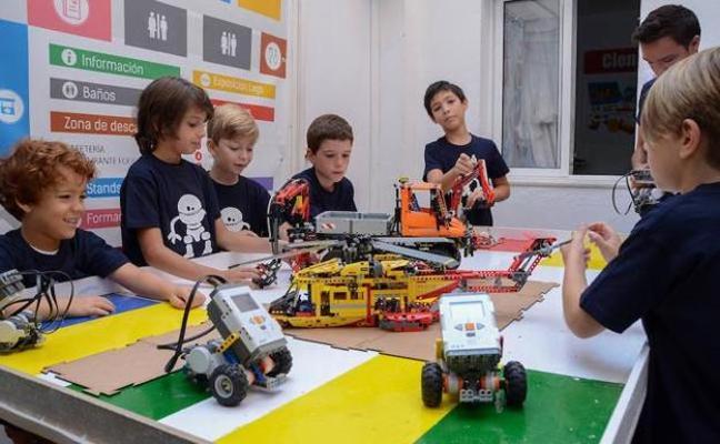 Taller de robótica con piezas de Lego en Badajoz