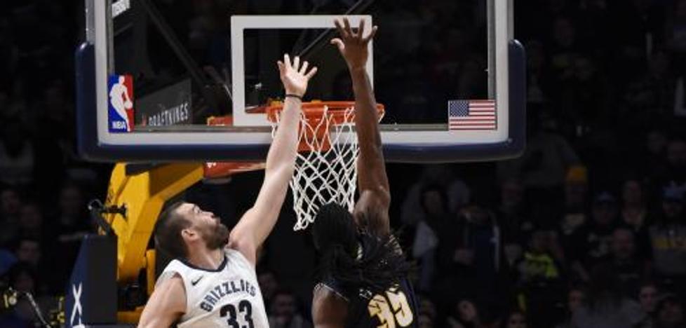 Noche aciaga para los españoles en la NBA