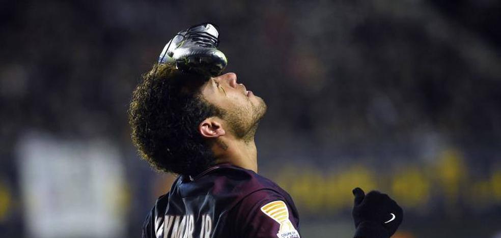 Florentino utilizaría a Cristiano para fichar a Neymar