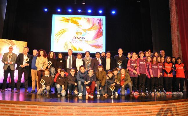 Deporte y emoción en la gala de los II Premios Alabán en Don Benito