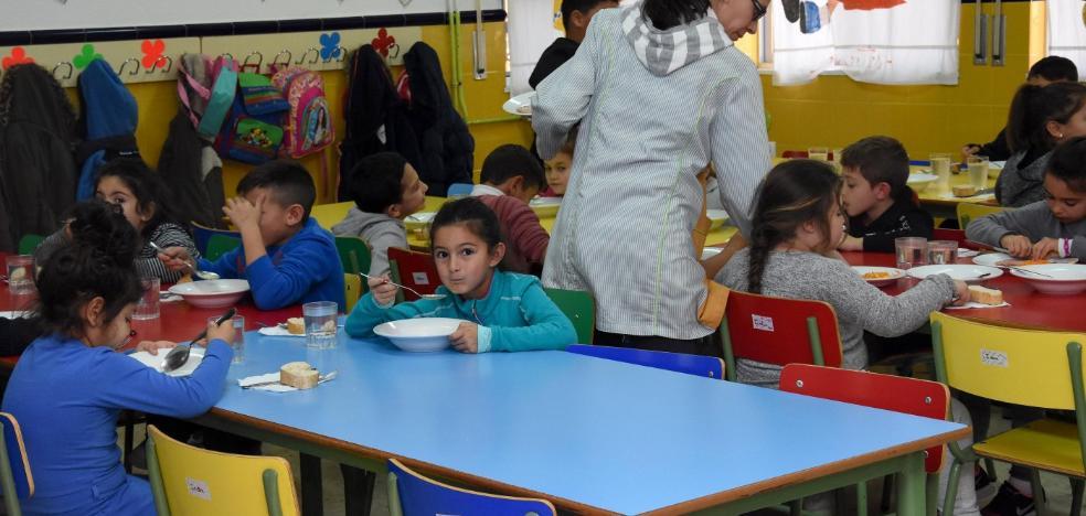Todos los colegios públicos tendrán comedor escolar en el curso 2019-20