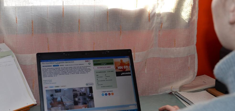 Anuncios fraudulentos ofrecen en Internet pisos de lujo en Badajoz