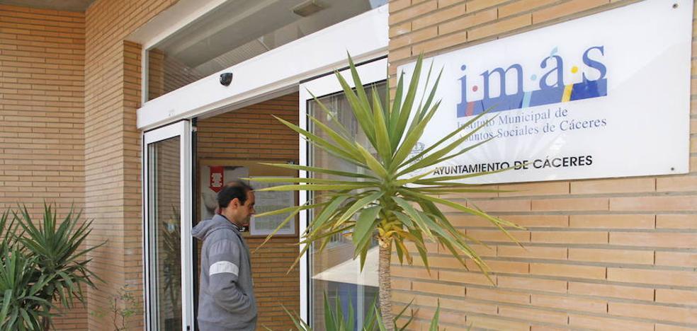 El IMAS de Cáceres aprueba 851.000 euros en subvenciones para inclusión social