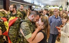 El contingente español en Letonia ha destacado por su «alto nivel de operatividad»