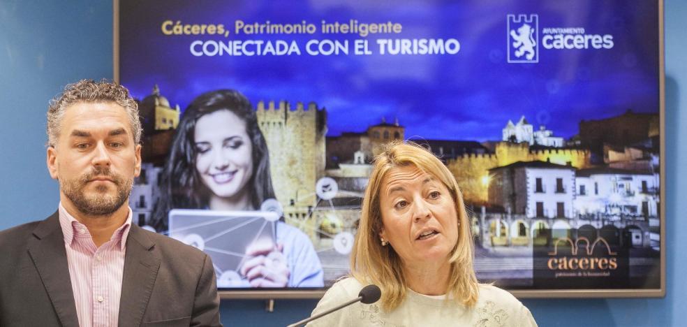 Cáceres recibió 711.000 visitantes en 2017, según el Ayuntamiento