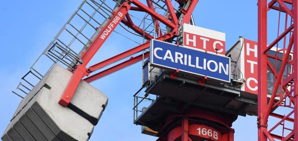 La quiebra de Carillion aplasta las filigranas europeas de May