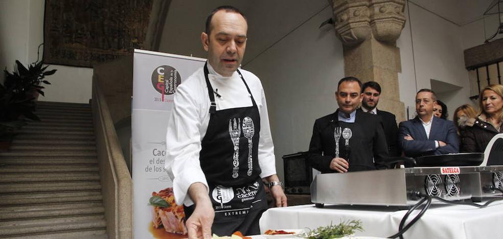 El chef extremeño José Pizarro mostrará su arte culinario en el 'Miniature Pintxos Congress'