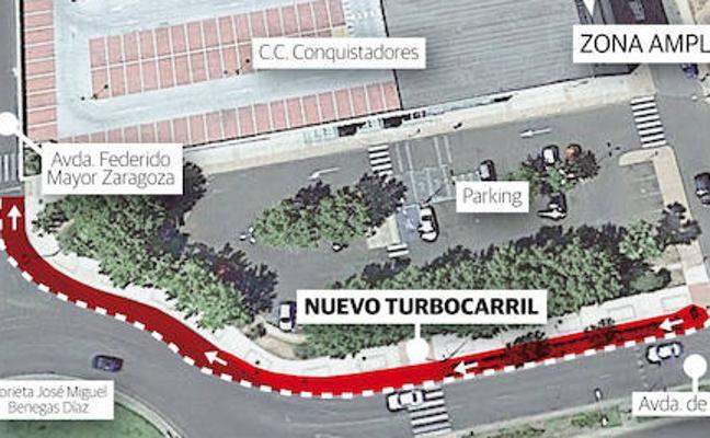 Badajoz tendrá un 'turbocarril' que conectará la glorieta del Puente Real con Mayor Zaragoza