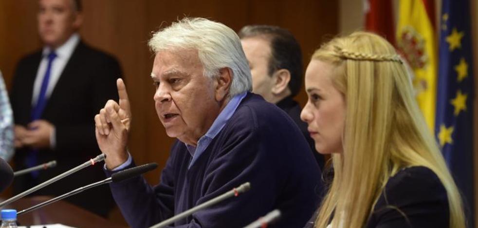 Felipe González: «En Venezuela no va a haber elecciones limpias»