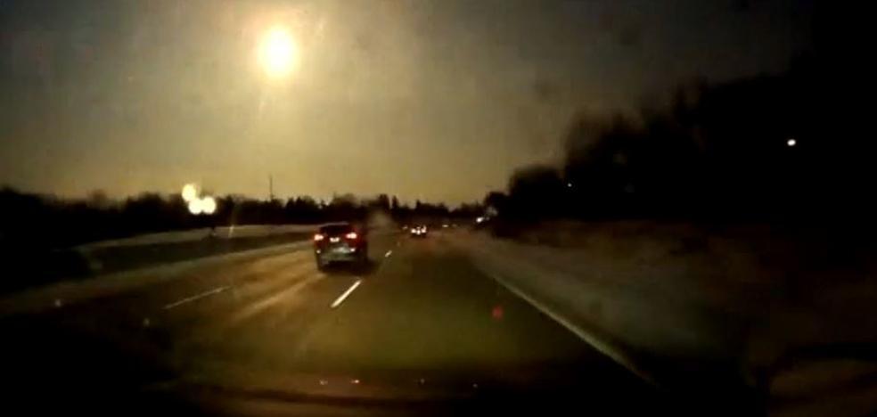 Un meteorito estalla en el cielo de Michigan y coincide con un pequeño terremoto