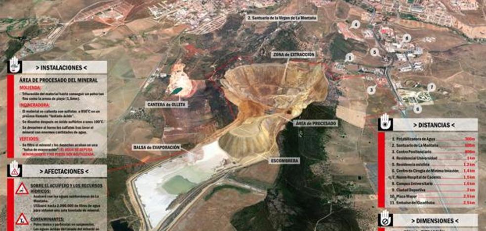 Ecologistas en Acción presenta alegaciones contra la mina de litio en Cáceres