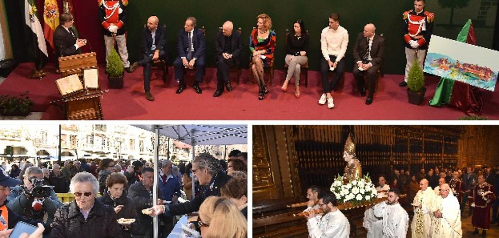 Plasencia entrega los San Fulgencio en el gran evento social del invierno