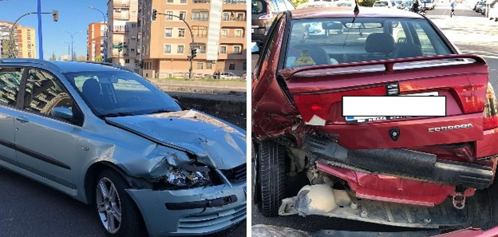 Detienen a un conductor que provocó un accidente en Badajoz y triplicó la tasa de alcohol
