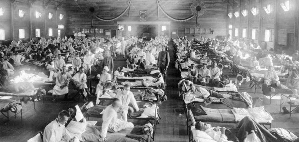 Cien años de la gripe que la censura de la Gran Guerra convirtió en española