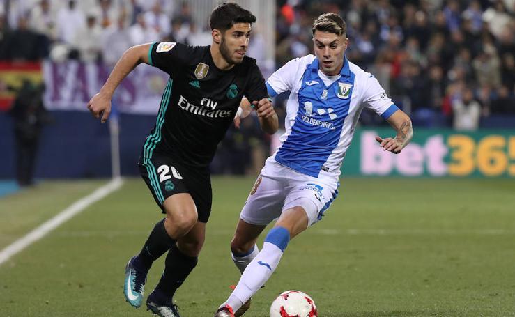 Las mejores imágenes del Leganés-Real Madrid