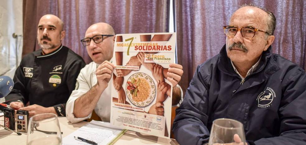 El sábado se repartirán 3.500 raciones de migas a beneficio del Banco de Alimentos