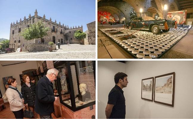 Los museos extremeños reciben 261.868 visitas en 2017, un 10% más