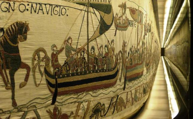 Préstamo del lienzo bordado de Bayeux